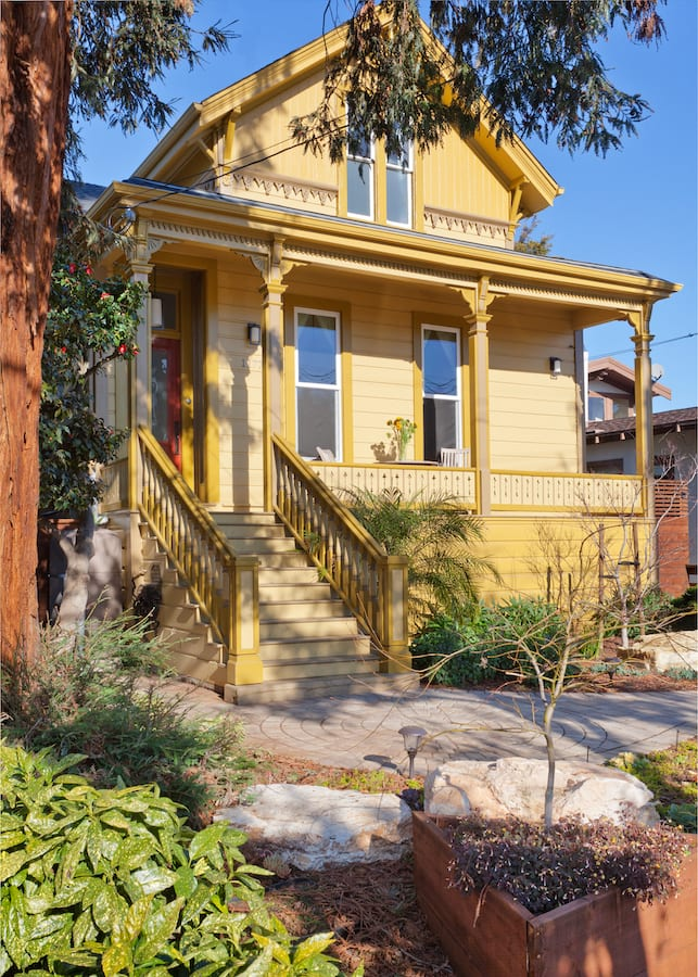renovated victorian bay area ca
