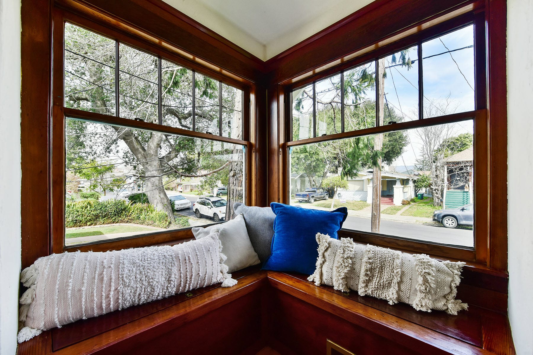 Alameda Craftsman Remodel Window seat