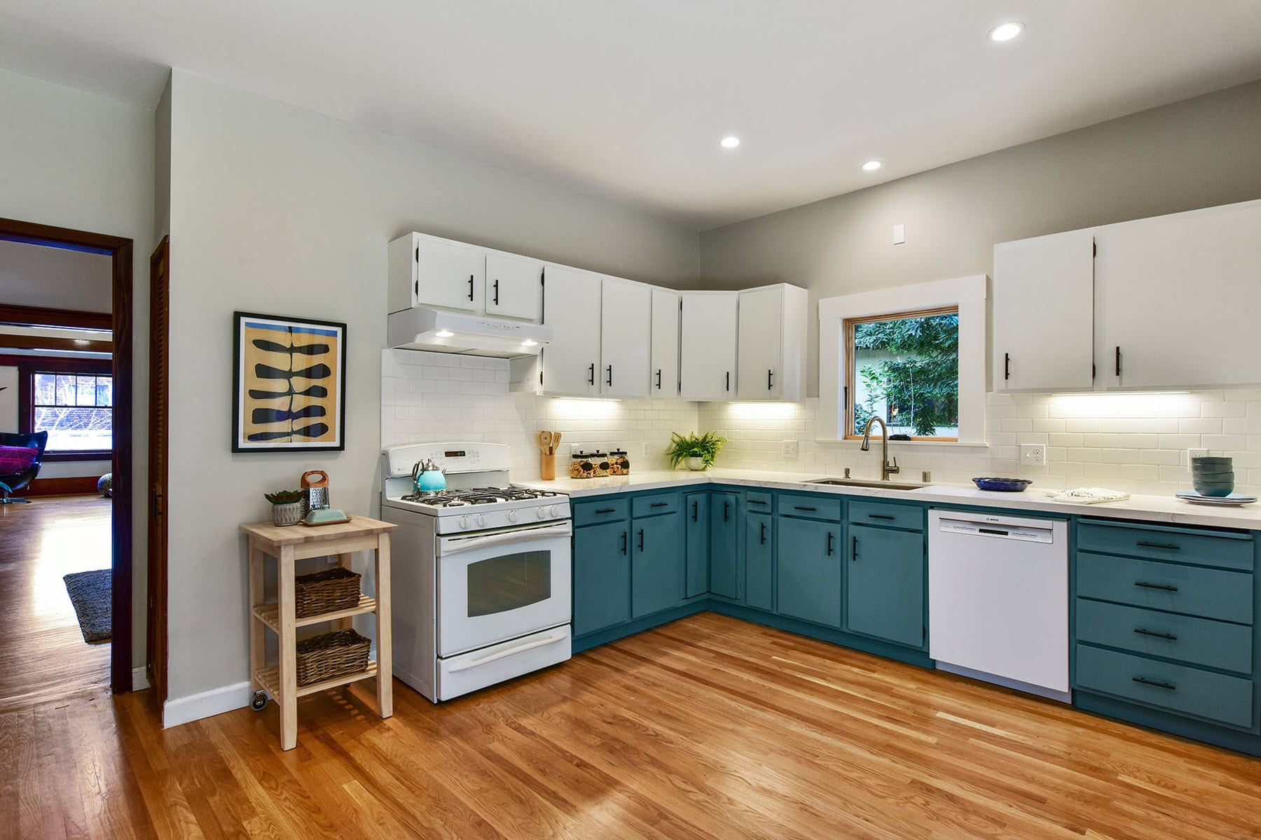 Alameda Craftsman Remodel Kitchen