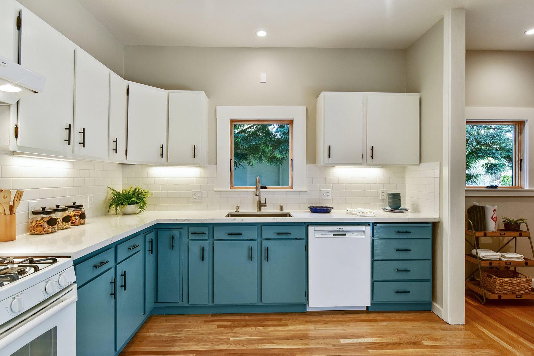 Alameda Craftsman Remodel Kitchen Cabinets