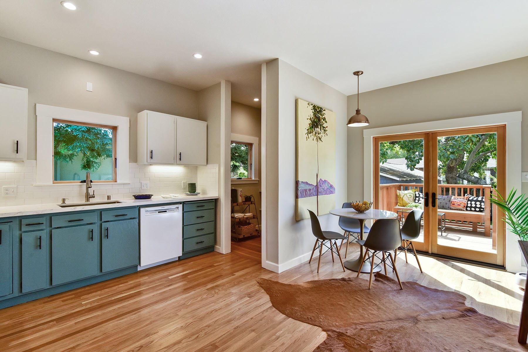 Alameda Craftsman Remodel Kitchen