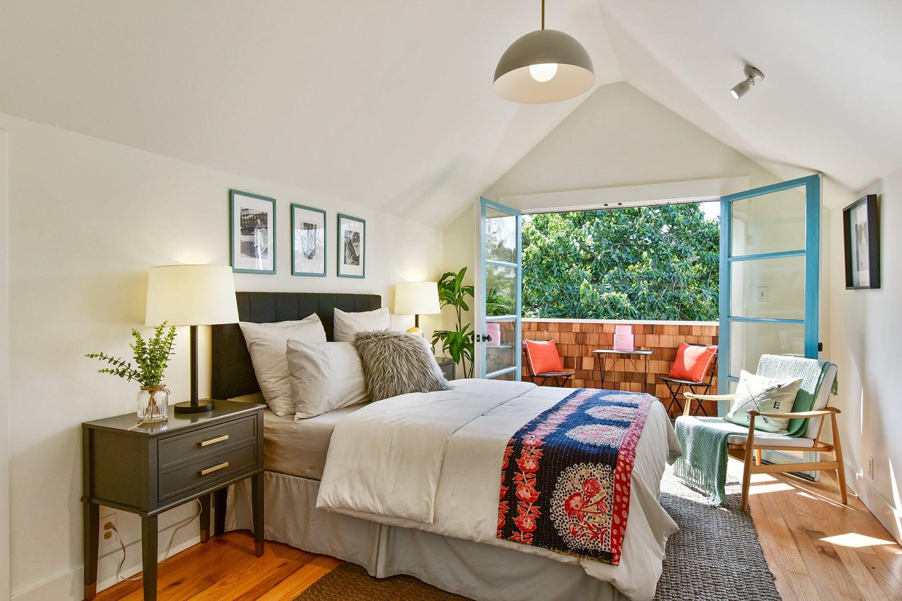 Alameda Craftsman Remodel Master Bedroom