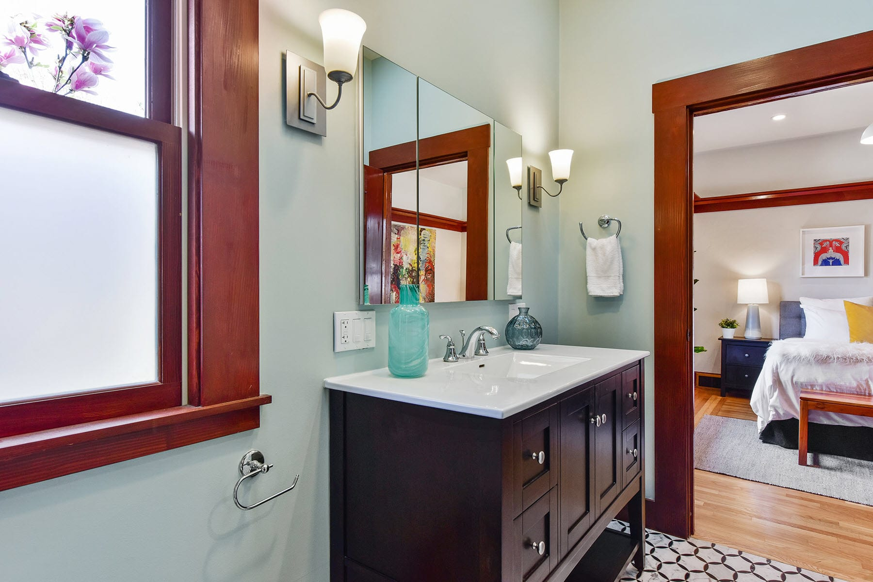 Alameda Craftsman Remodel Bathroom