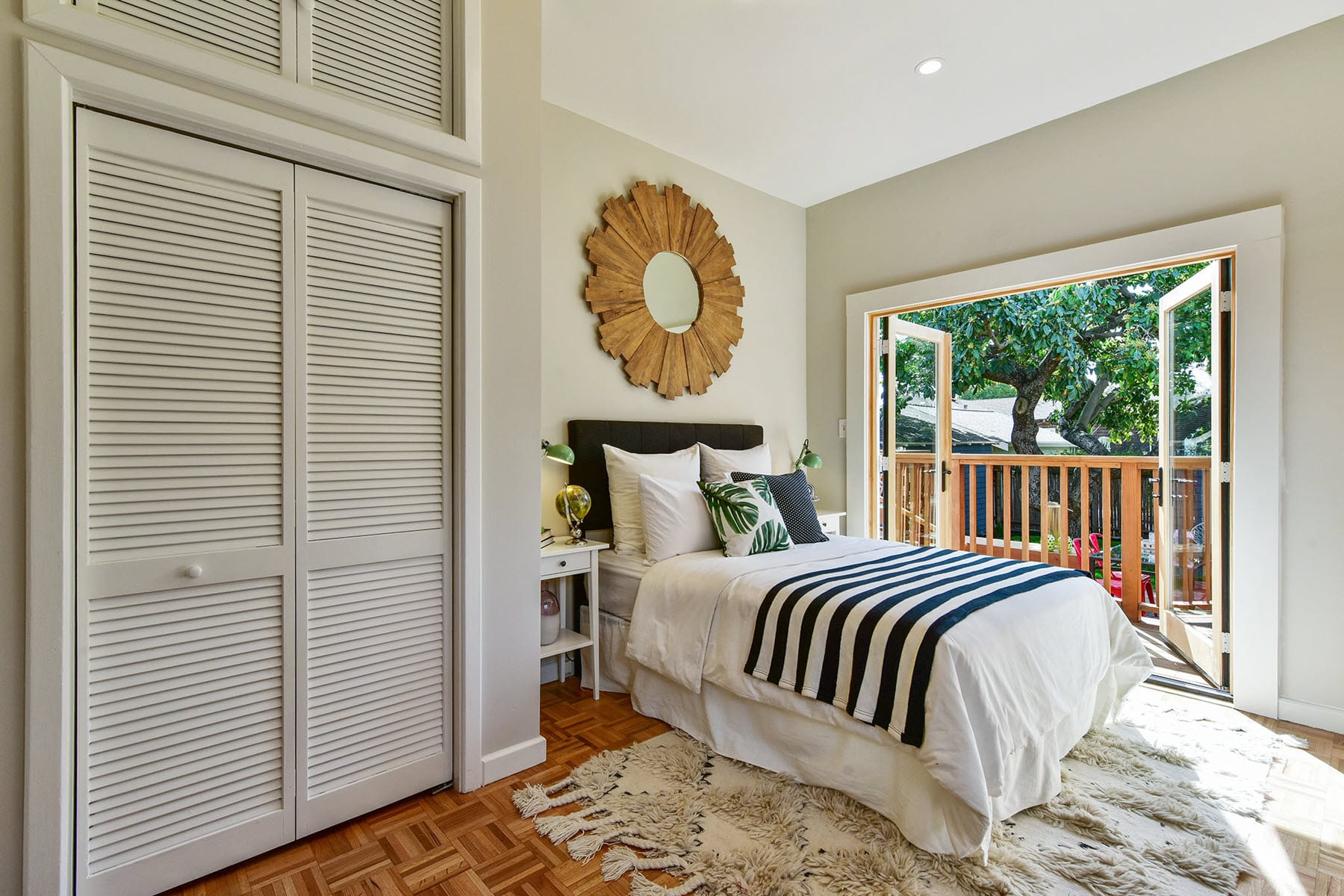 Alameda Craftsman Remodel Bedroom