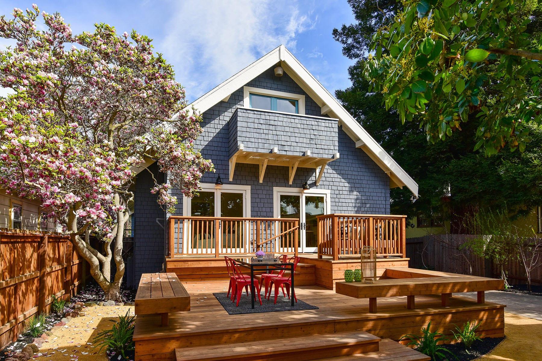 Alameda Craftsman Remodel Backyard Deck