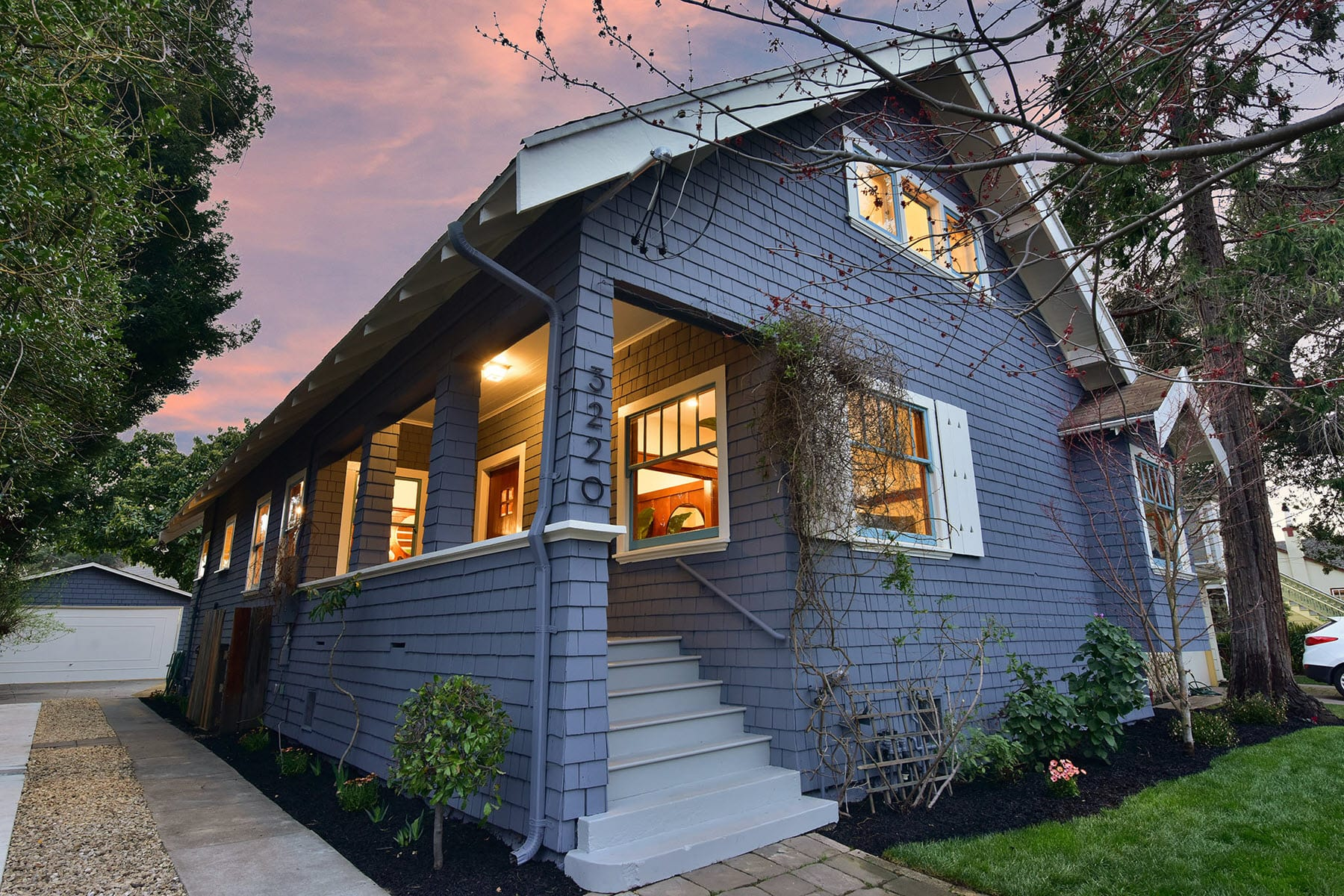 Alameda Craftsman Remodel Twilight