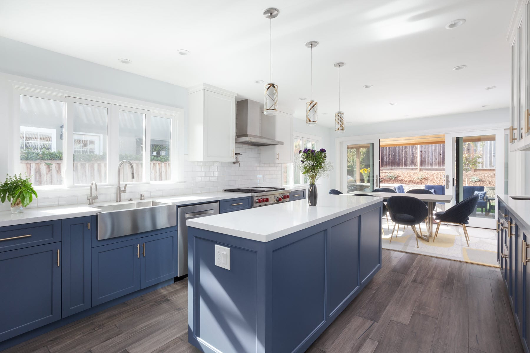 Sunnyvale Modern Ranch Kitchen