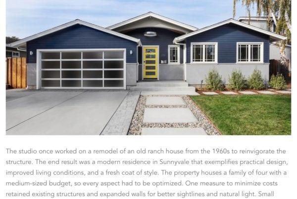 Sunnyvale house remodel saikley architects